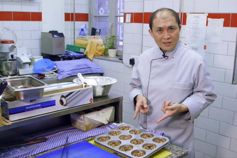 Mit seinen kleinen Pecan Pies überzeugte der Koch die Jury kulinarisch.
