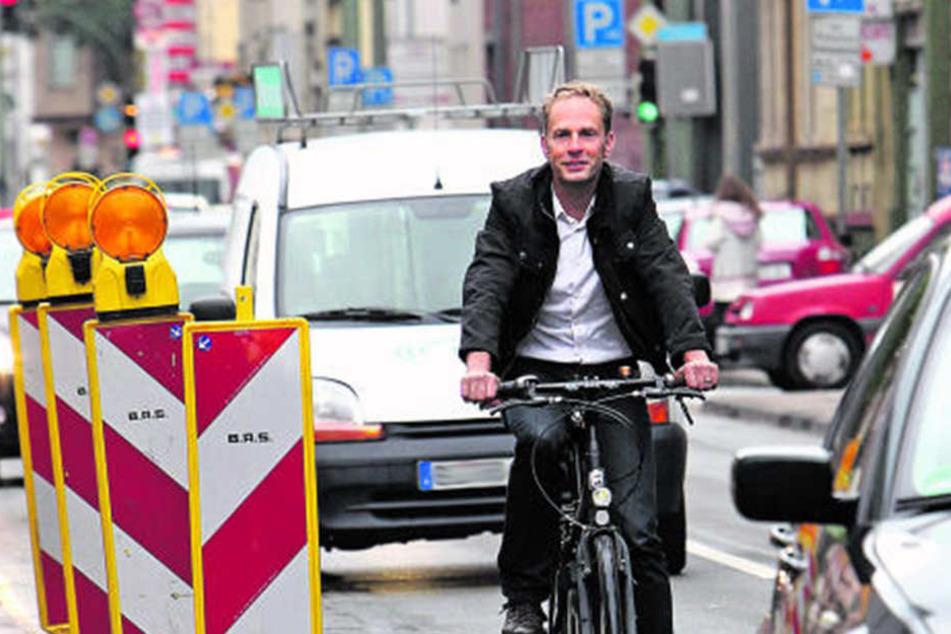 Die neuen Fahrrad-Routen sollen abseits der Hauptverkehrsstrecken verlaufen.