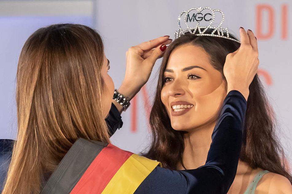 Die neue Miss Sachsen Anastasia Aksah (21) kommt aus Zwickau.