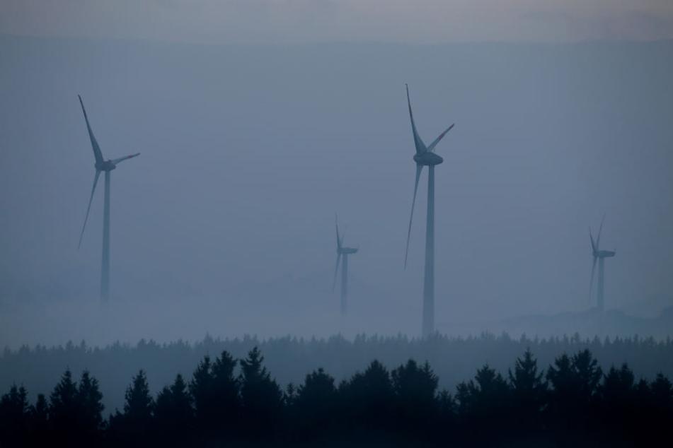 Der Windkraftausbau ist drastisch zurück gegangen.
