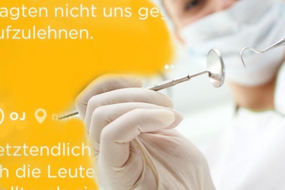 Widerlich! Zahnarzthelferin macht unfassbares Geständnis auf Jodel