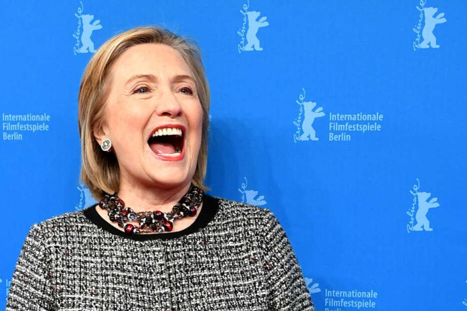 Hillary Clinton, Politikerin und ehemalige Außenministerin der USA, bei der Berlinale.