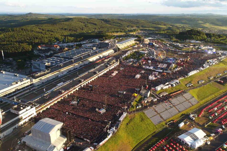 Ingesamt kamen 86.000 Besucher an den Ring.