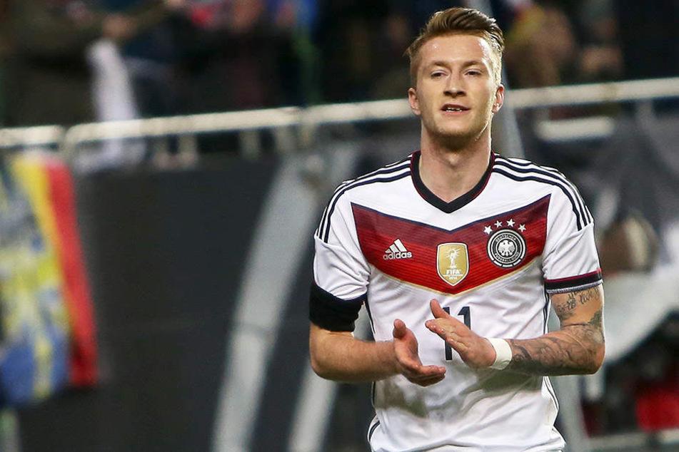"""Wurde von Löw als """"Rakete"""" bezeichnet: Marco Reus."""
