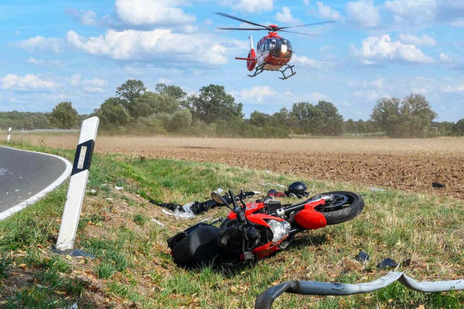 Teenie-Biker stirbt bei tragischem Unfall