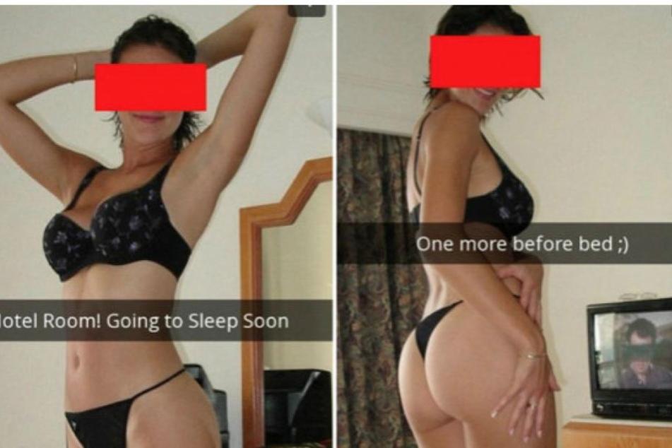 Über diese heißen Bilder seiner Freundin freute sich ein Mann nur auf den ersten Blick...