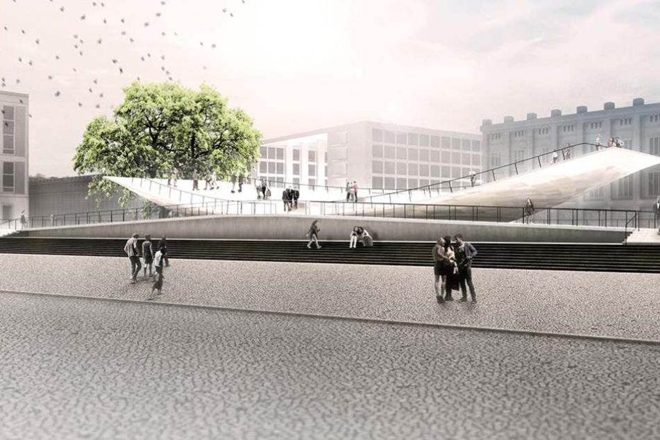 Einheitsdenkmal soll gebaut werden Bundestag beschließt Bau der