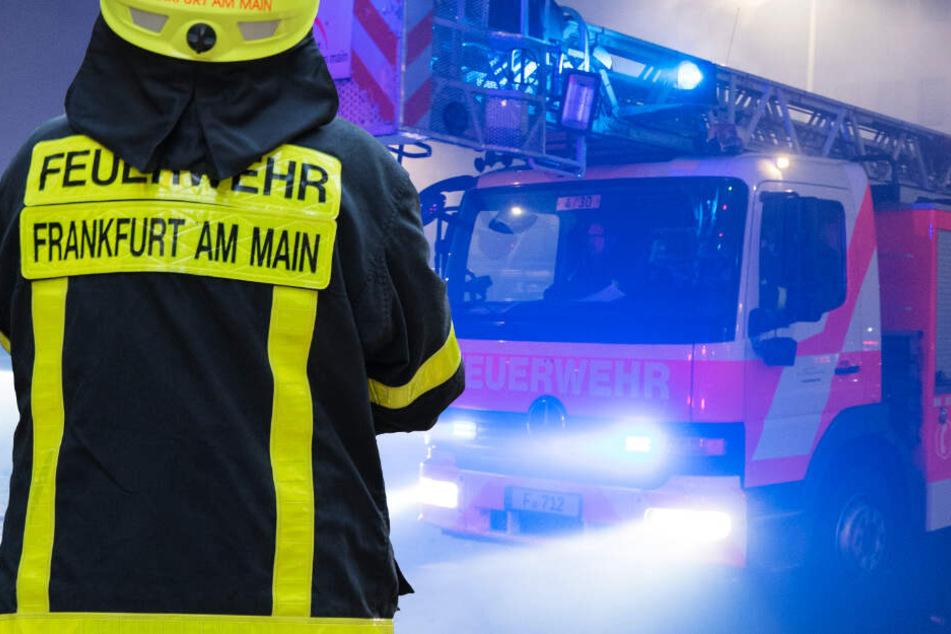 Rund 60 Feuerwehrkräfte waren in Frankfurt-Oberrad im Einsatz (Symbolbild).