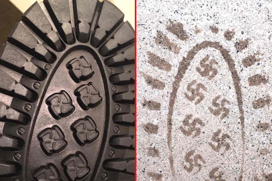 Schuhhersteller sorgt mit Hakenkreuz-Sohle für Empörung