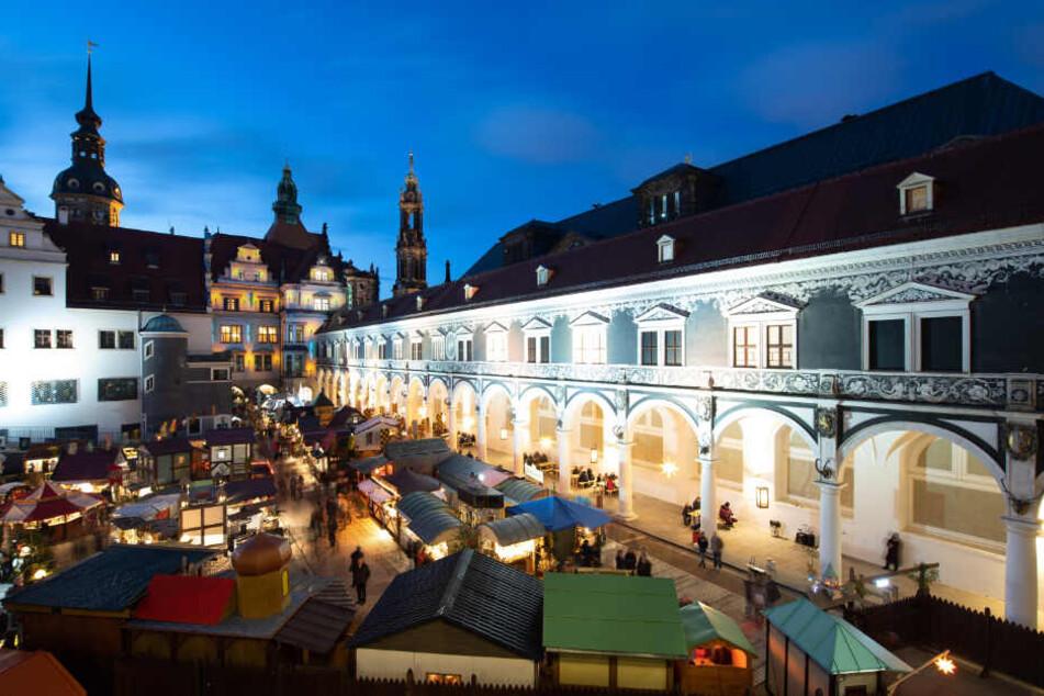 Die Händler im Dresdner Stallhof sind nicht begeistert.