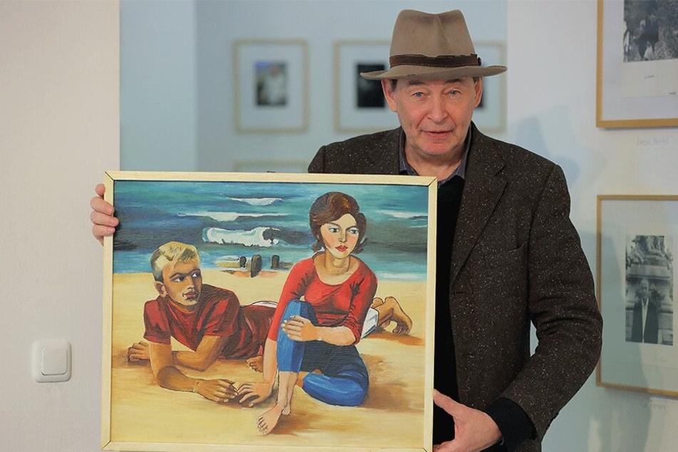 Jetzt in neuer Ausstellung zu bewundern: Das berühmteste Gemälde der DDR