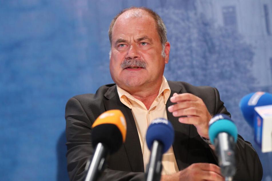 Peter Ritter (Die Linke), innenpolitischer Sprecher der Linksfraktion im Landtag von Mecklenburg-Vorpommern.