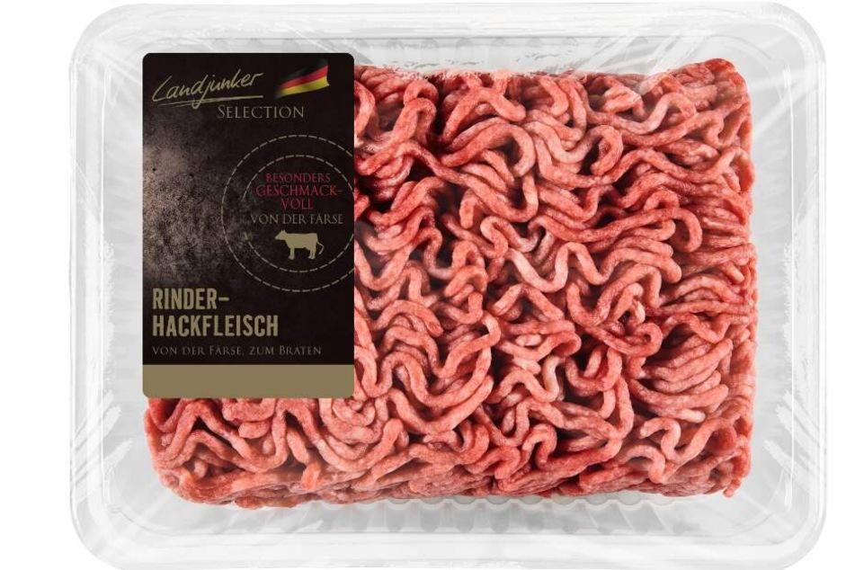 Auch in diesem Hackfleisch könnten sich Kunststoffteile befinden.