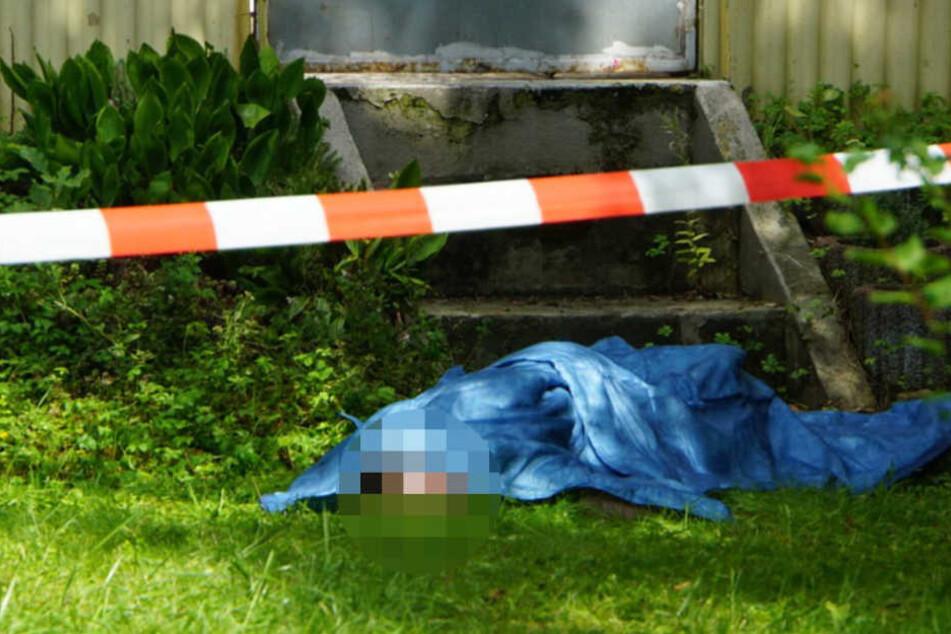 Am Donnerstagnachmittag wurde die Leiche im Garten eines Wohnhauses gefunden.