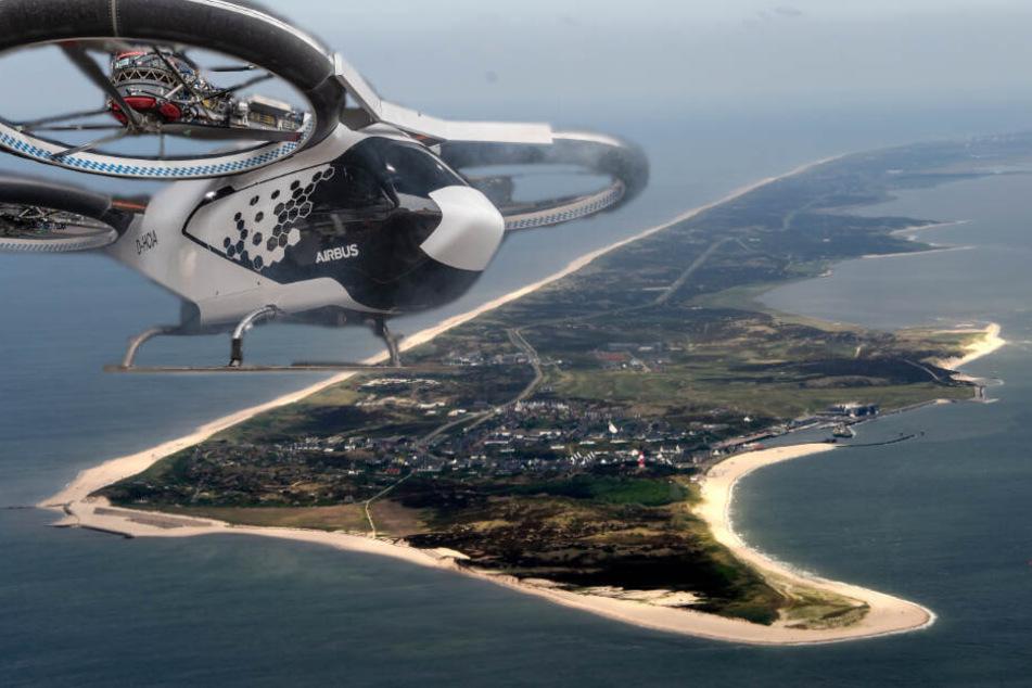 Mit dem Drohnen-Taxi nach Sylt: Gibt es schon bald die ersten Flüge?