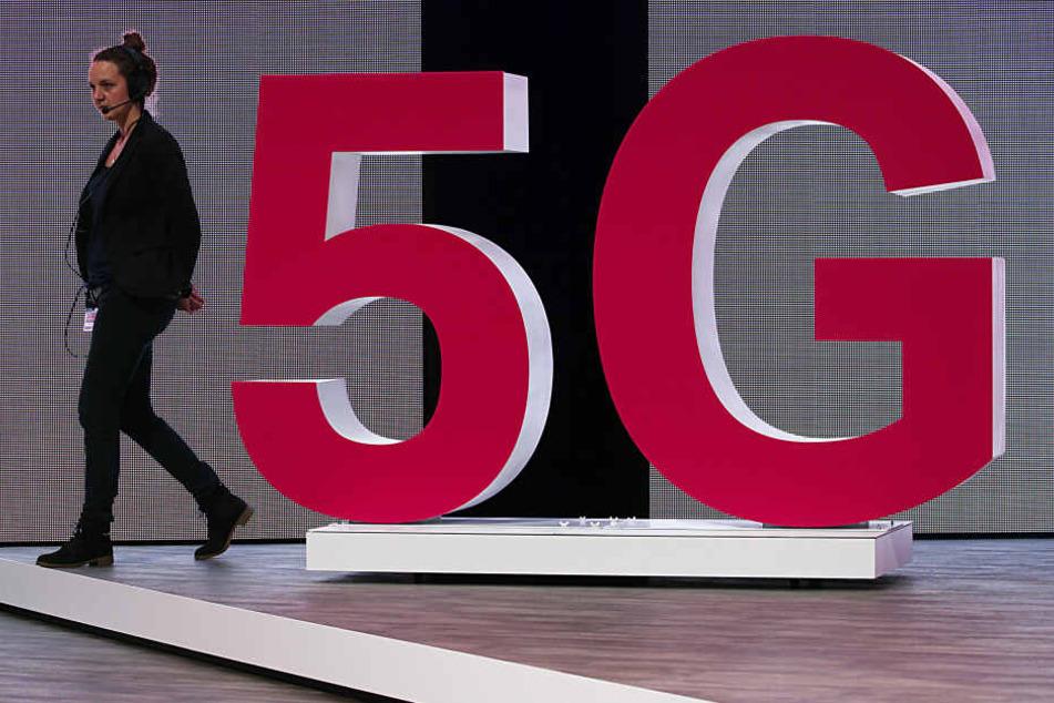 5G gilt als neuer Datenstandard für Mobiltelefone.