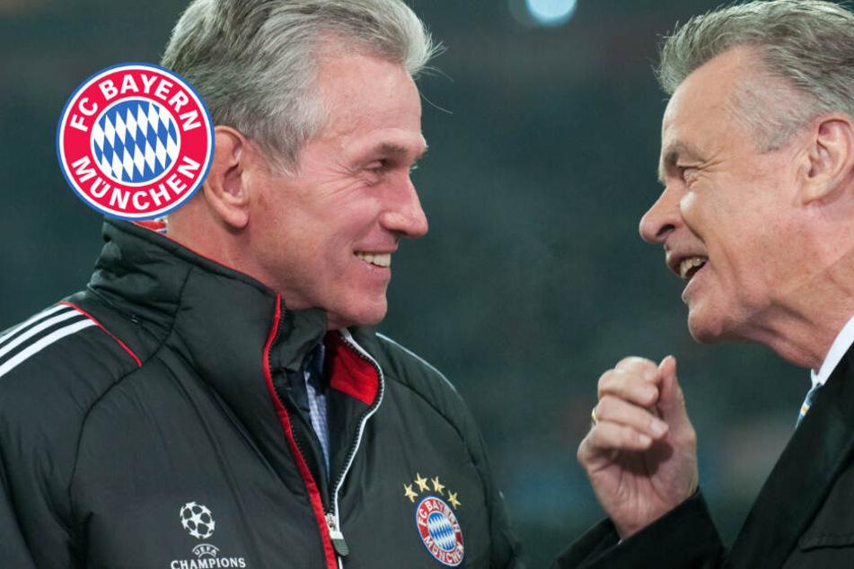 Neuer FC-Bayern-Trainer? Heynckes und Hitzfeld stellen Forderung
