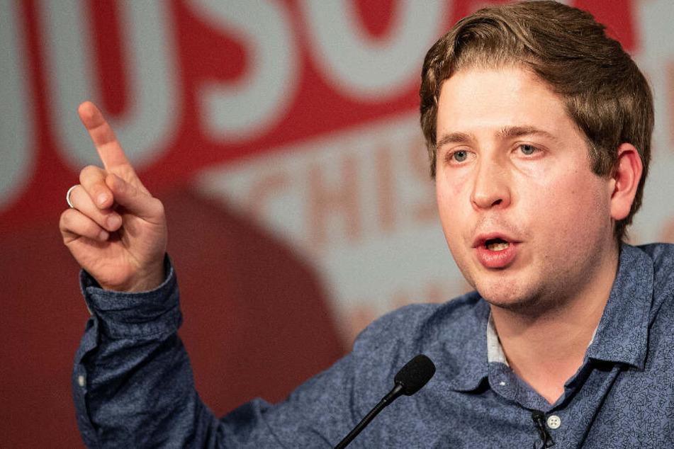 Das Archivbild zeigt Juso-Chef Kevin Kühner im November 2018.