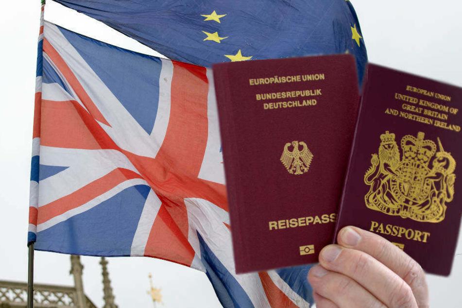 Briten können vor dem Brexit noch eingebürgert werden, ohne ihre eigene Staatsbürgerschaft zu verlieren.