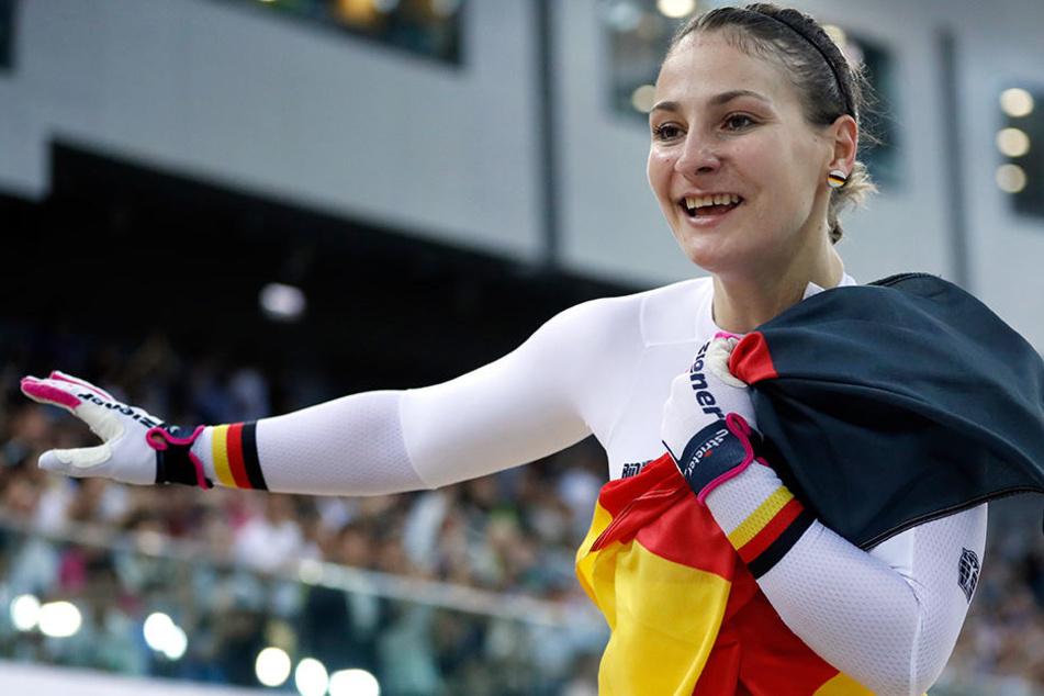 Olympiasiegerin Kristina Vogel muss sich einen neuen Trainer suchen.