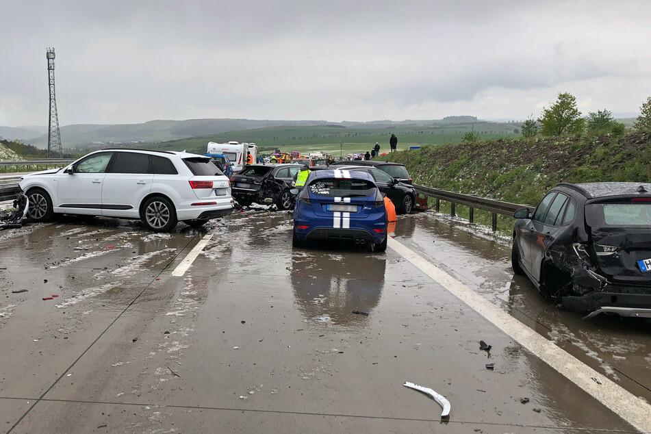 Unfallmeldungen A7
