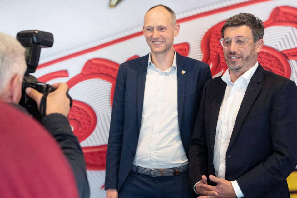 Bilden Christian Riethmüller (links) und Claus Vogt bald eine Doppelspitze?