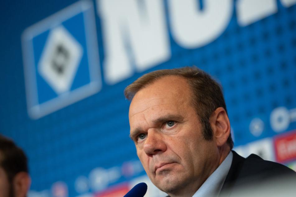HSV-Vorstandschef Bernd Hoffmann lehnt eine Erhöhung der Anteile von Investor Kühne ab.