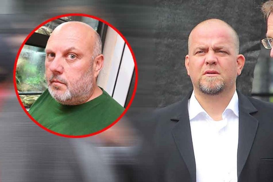 Der stellvertretende Vorsitzende der AfD Meißen, Mario Aßmann (l.) erteilte Däbritz eine Abfuhr.
