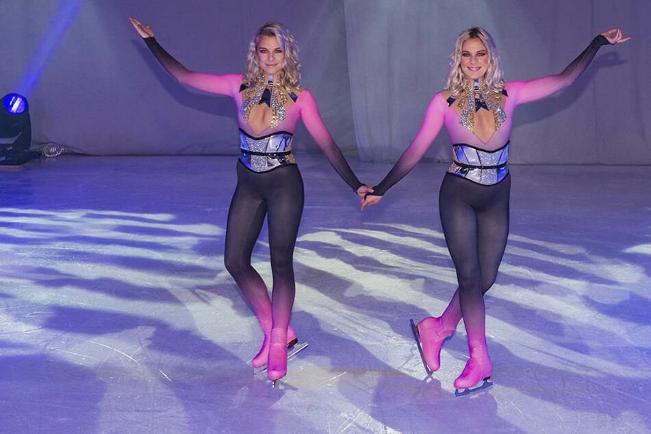 "So charmant begeisterten Cheyenne (23, l.) und Valentina Pahde bei der ""Holiday on Ice""-Premiere in Hamburg."