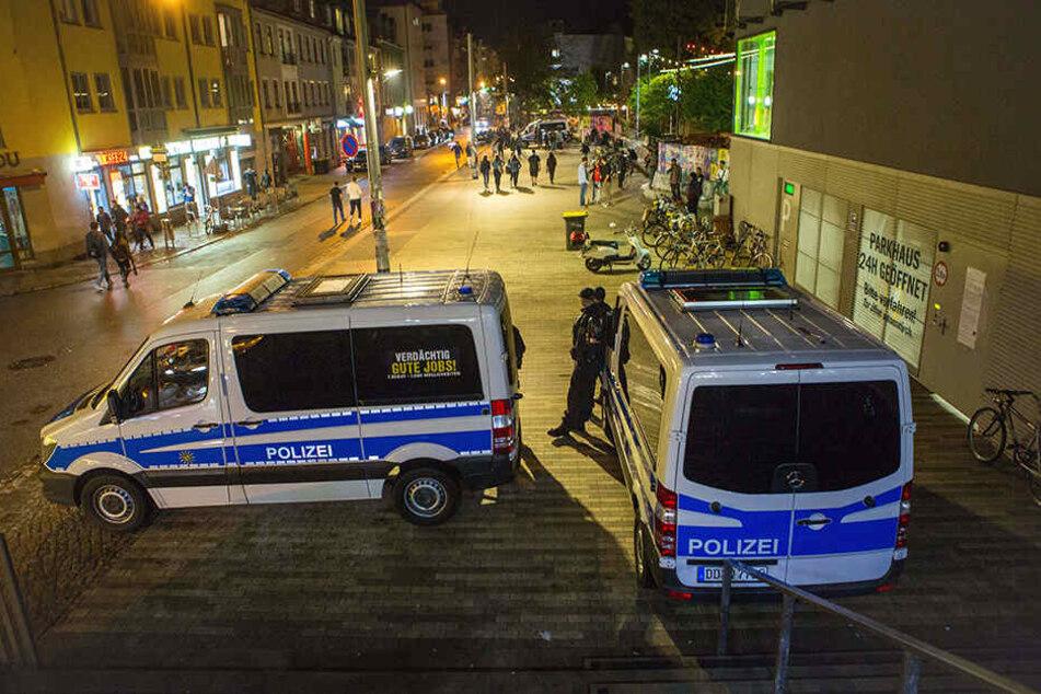 2018 rückte die Polizei zu 30 Großeinsätzen in die Neustadt ein.