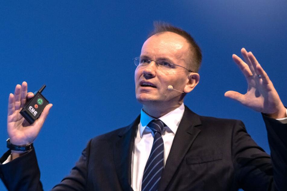 Markus Braun, Vorstandsvorsitzender von Wirecard.