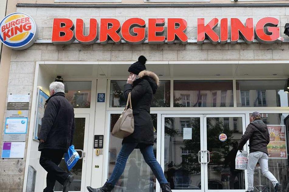 Ärger bei Burger King, wegen eines Zettels (Symbolbild).
