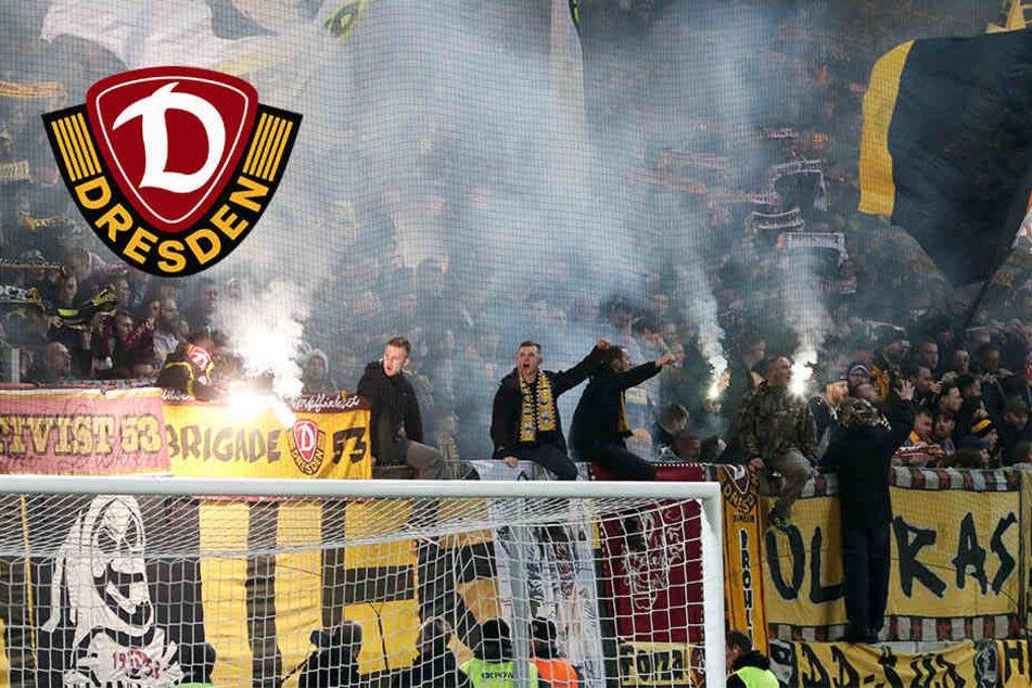 Dynamo-Fans benehmen sich daneben, Verein muss erneut zahlen