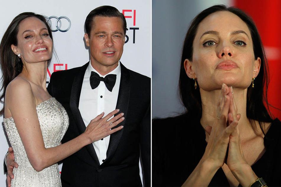 """""""Brangelina"""" galt lange als Traumpaar. Heute ist Angelina auf sich allein gestellt."""