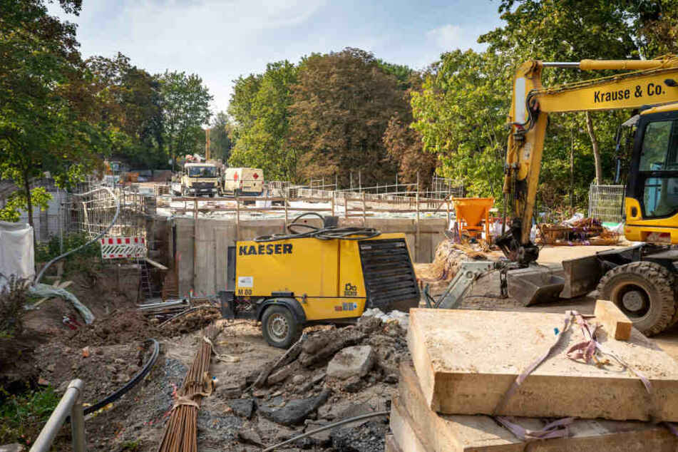 Die Bauarbeiten an der Kaßbergauffahrt verzögern sich bis ins Frühjahr.
