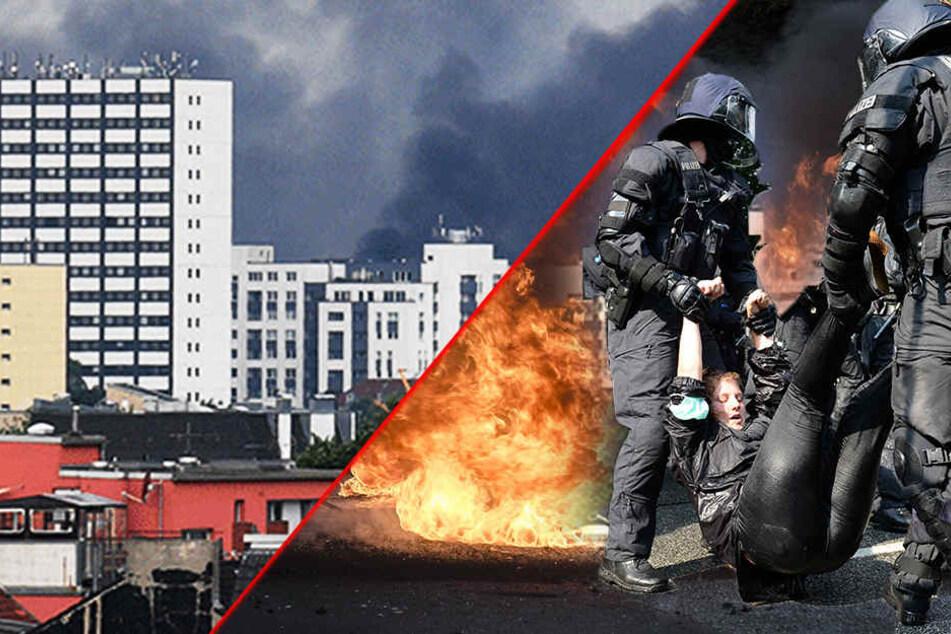 Feuer, Verletzte und Eskalation: Hamburg versinkt zum G20-Gipfel im Chaos!