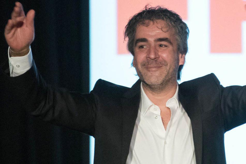 """Der Journalist Deniz Yücel kommt zu der Veranstaltung """"Auf die Freiheit"""" in den Festsaal Kreuzberg."""