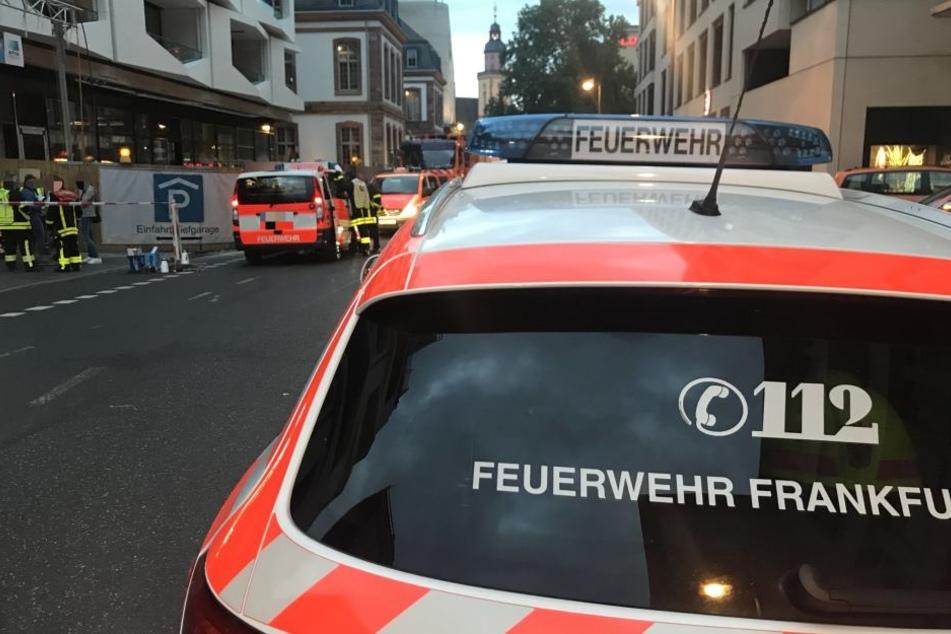 """""""Es hörte nicht auf"""": Frankfurter """"MyZeil"""" unter Wasser"""