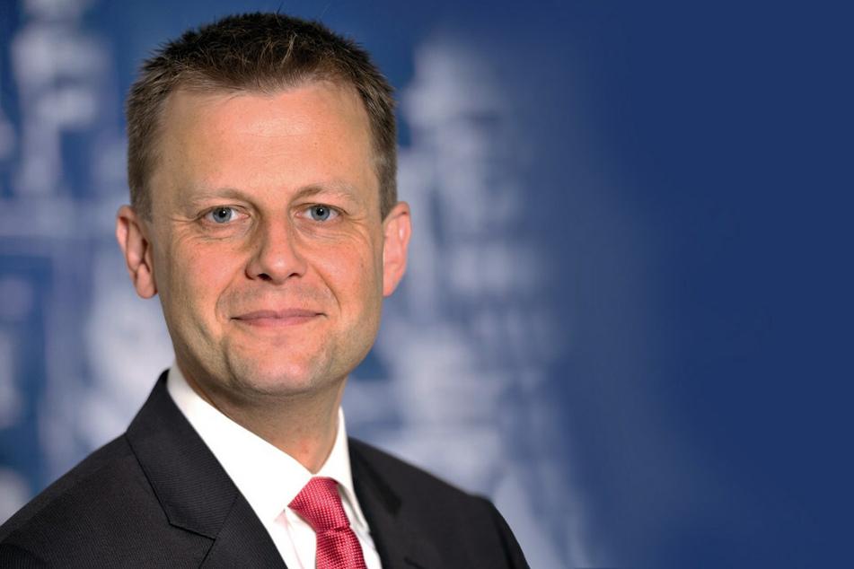 Torsten Bonew, Bürgermeister und Beigeordneter für Finanzen.