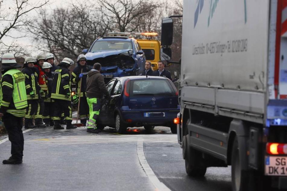 21-Jähriger bei Frontal-Crash schwer verletzt