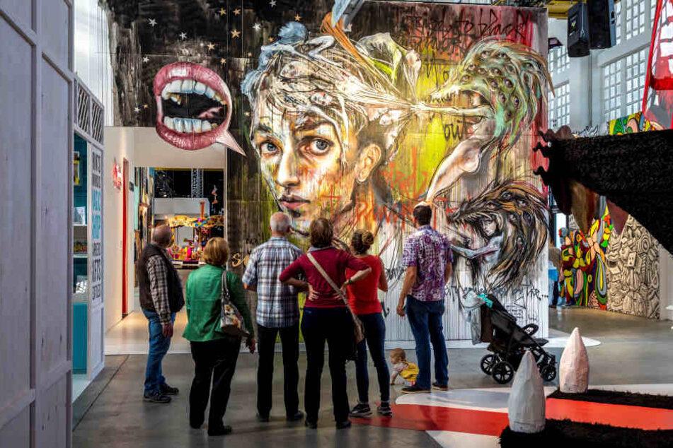 """Die StreetArt Ausstellung """"Magic City – Die Kunst der Straße"""" feierte Weltpremiere!"""