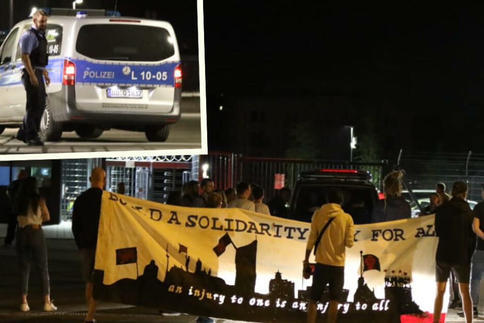 Leipzig: Friedliche Demo gegen Abschiebung in Leipzig, doch der Asylbeweber ist verschwunden