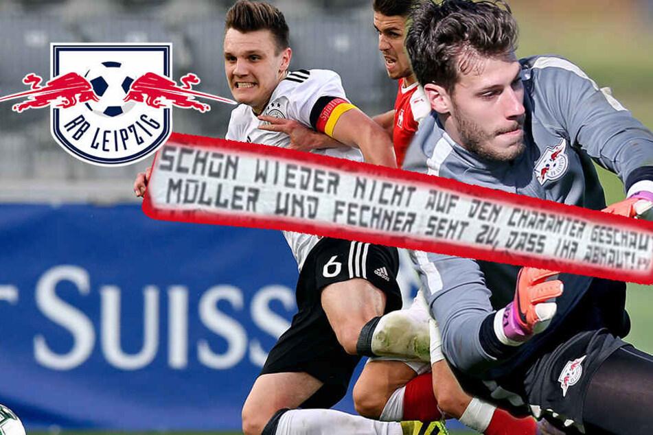 Plakate gegen Ex-RB-Spieler: 1. FCK distanziert sich von eigenen Fans