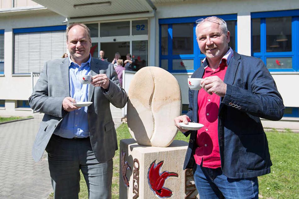 Das Kaffee-Problem im Büro von Oberbürgermeister Dirk Hilbert (45, FDP) ist  gelöst.