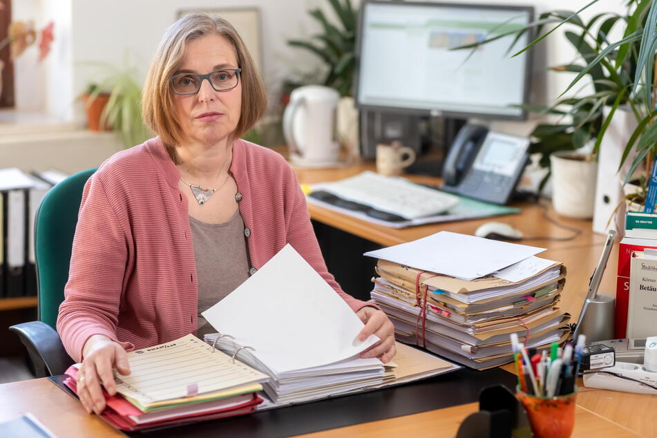 Landgerichts-Sprecherin Marika Lang (57).