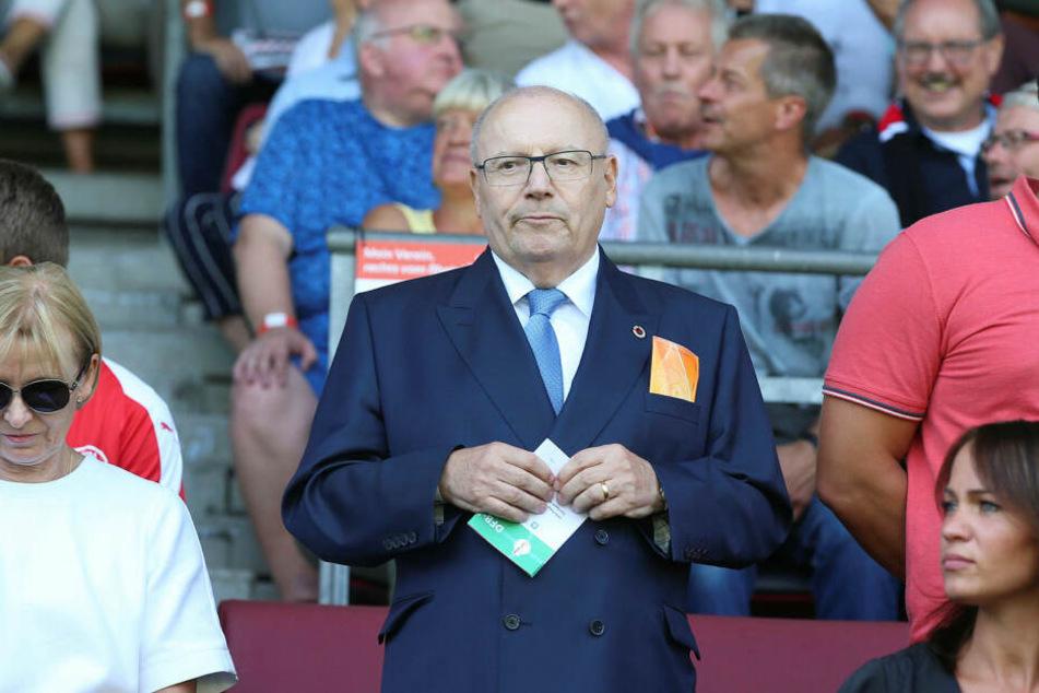 Der Firmenchef von Lok Leipzigs Hauptsponsor ETL freut sich am 28. Juni auf das Duell des FCL gegen die ebenfalls von ihm unterstützte Viktoria aus Köln.
