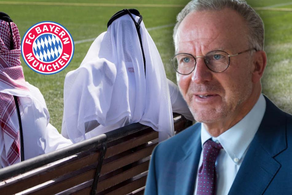 Trainingslager in Katar: Bayern-Boss Rummenigge kontert Kritik