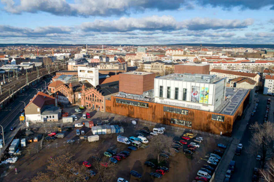 Während weitere Kraftwerksgebäude saniert werden, soll auf der Freifläche unter anderem ein Hochhaus entstehen.