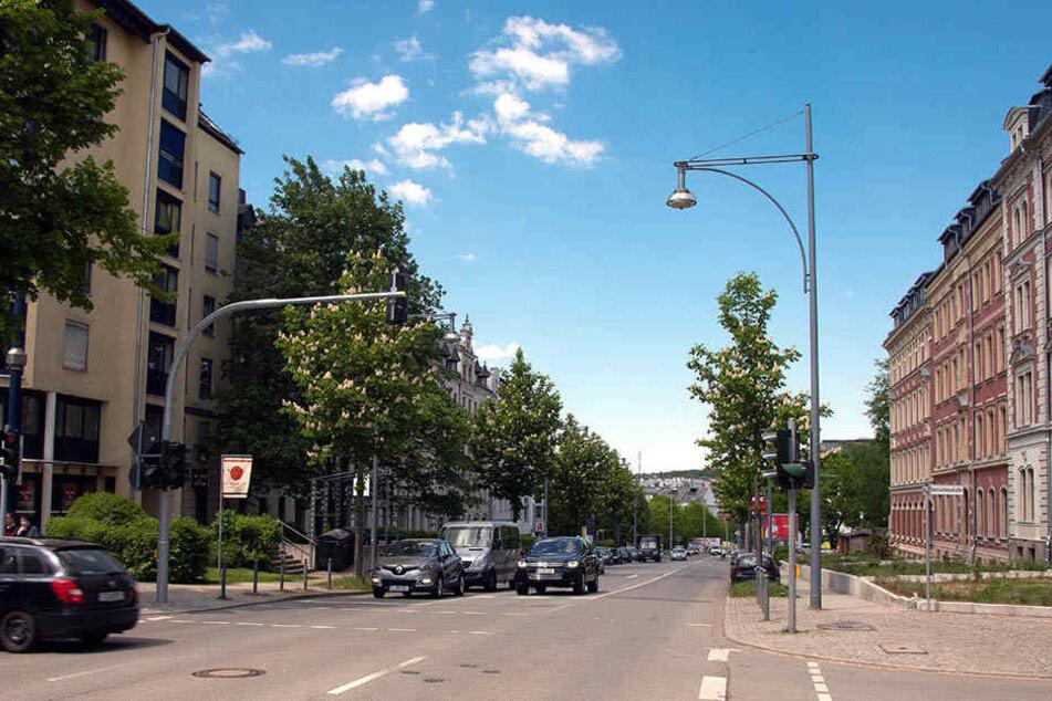 In diesem Straßenzug auf dem Kaßberg lebt der CFC-Star.