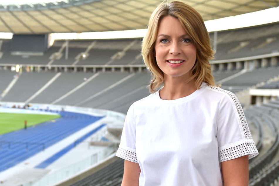 """""""Sportschau""""-Moderatorin verrät: Sah beim Turnen aus wie eine Frikadelle"""